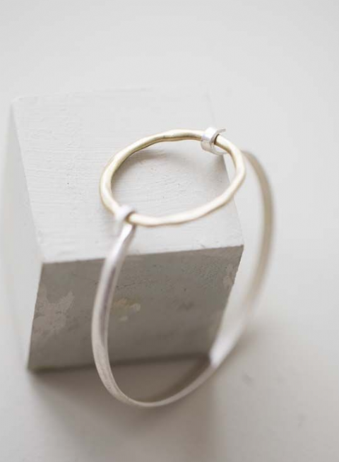 PHILLIPA OPEN RING BRACELET